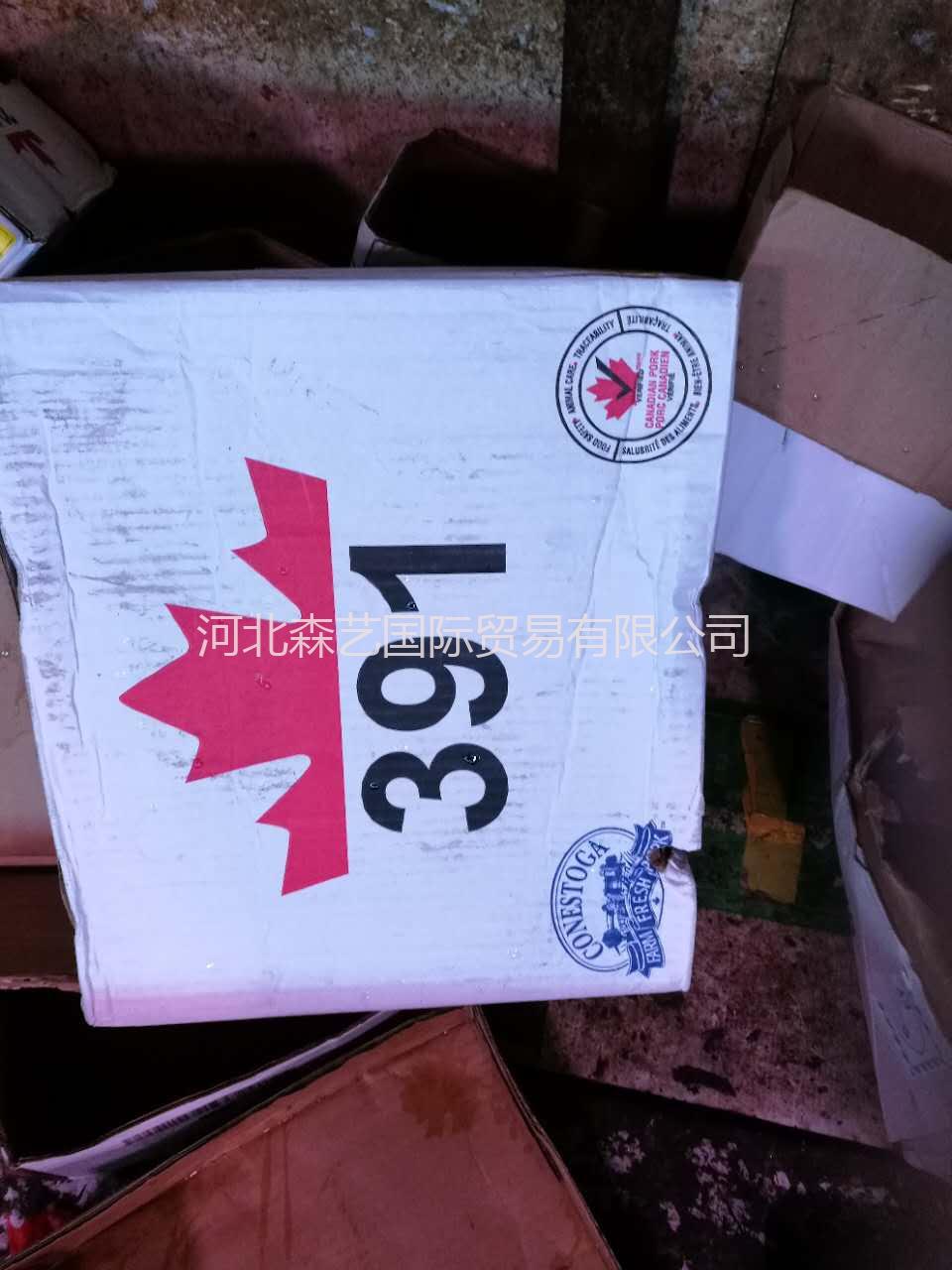 供应 进口猪手脚 冷冻猪手脚 加拿大391厂猪脚 货源充足 颜色好