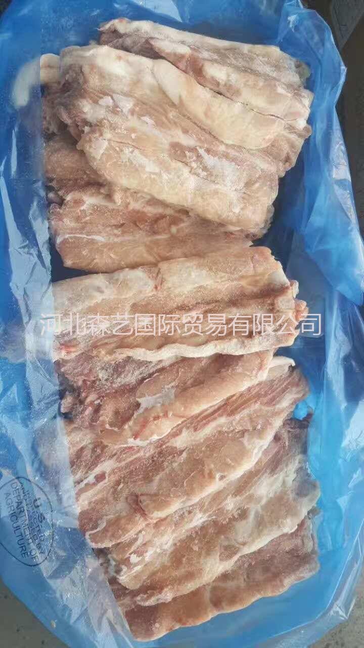 供应 进口猪脊骨段 18079厂 冷冻猪脊骨段 正关产品 一手货源